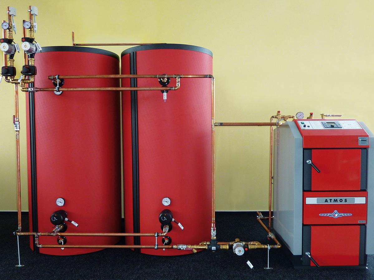 Обязательна ли установка буферных резервуаров в системе центрального отопления?
