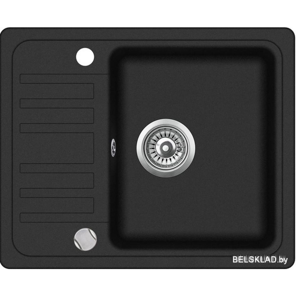 Кухонная мойка Aquasanita Notus SQ102AW (black metallic 601)