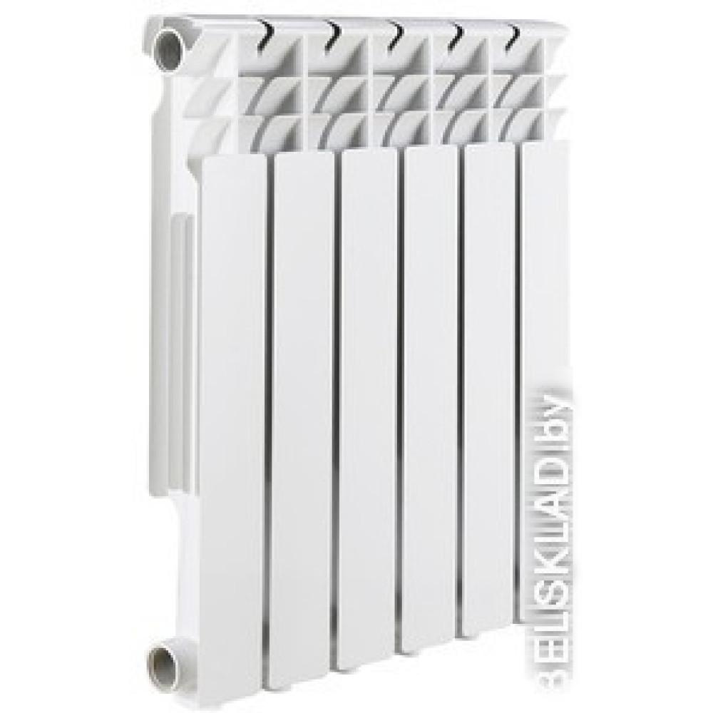 Алюминиевый радиатор Rommer Optima 500 (4 секции)