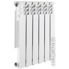 Алюминиевый радиатор Rommer Optima 500 (6 секций)
