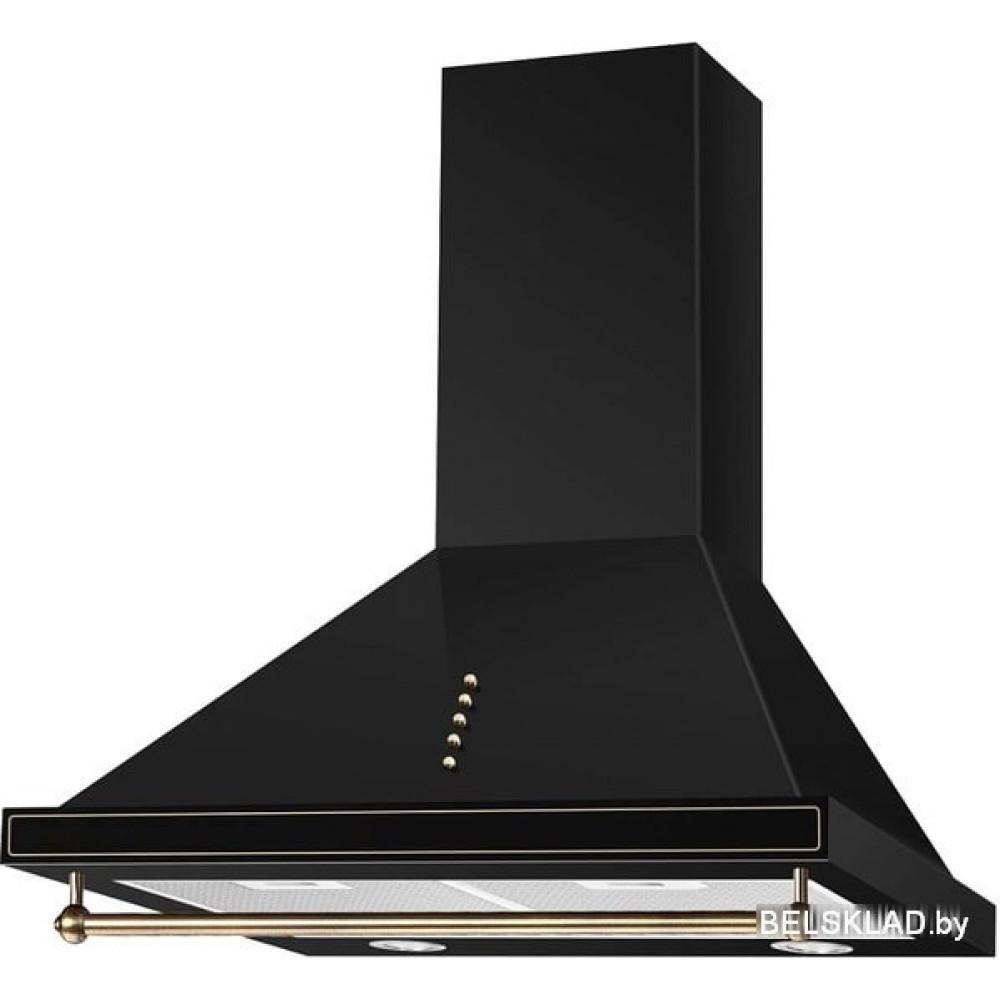 Кухонная вытяжка Ciarko Retro 60 (черный)