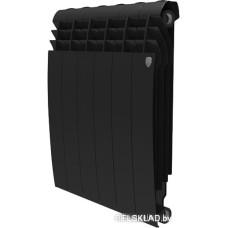 Биметаллический радиатор Royal Thermo BiLiner 500 Noir Sable (4 секции)