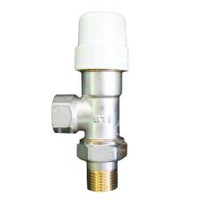 Термостат. клапан осевой 1/2 STI