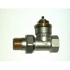 Термостат. клапан прямой 1/2 STI