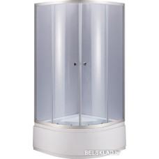 Душевой уголок Niagara NG-108012-14 80x80 (хром/прозрачное)
