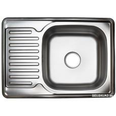 Кухонная мойка Stellar 6350D 18 см