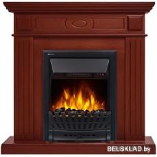 Портал Firelight Bianco Classic (шпон красное дерево)